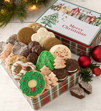 Warm Wishes Tin - Merry Christmas - Treats