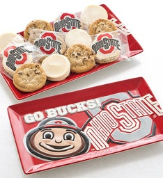 Ohio State Dessert Platter with Assorted Cookies