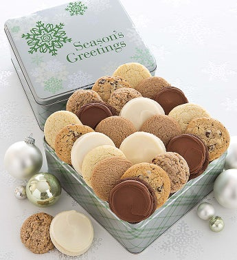 Elegant Holiday Gift Tin Sugar Free