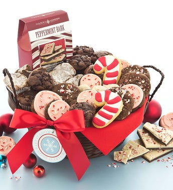 Holiday Peppermint Gift Basket