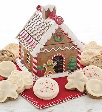 Collectors Edition Gingerbread House Cookie Jar