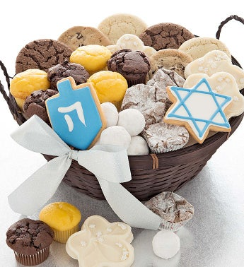 Hanukkah Holiday Bakery Basket