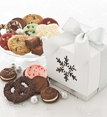 Snowflake Goodie Gift Box