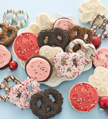 Holiday Pretzels and Cut-out Cookies