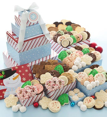 Sweet Holiday Cheer Grand Gift Tower