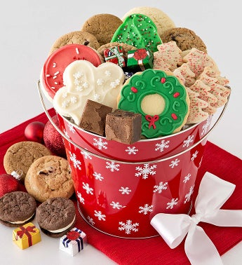 Holiday Treats Gift Pail