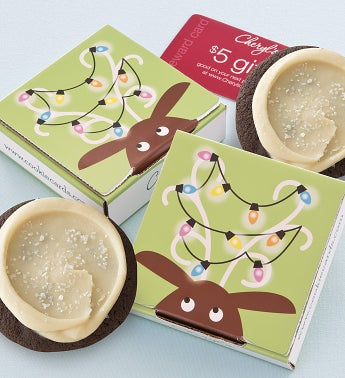 Reindeer Cookie Card Sets