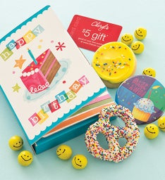 Birthday Party Cookie & Gift Card