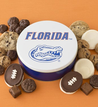 Florida Gators Treats Tin