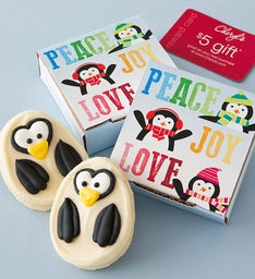 Peace Love Joy Cookie Card