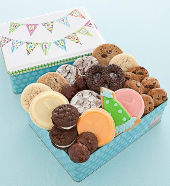 Happy Birthday Tin Treats Assortment