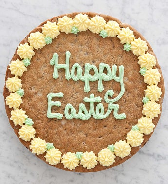 Happy Easter Chocolate Chip Party Cookie