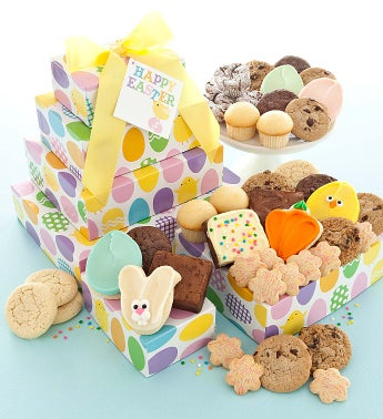 Easter Bakery Gift Tower