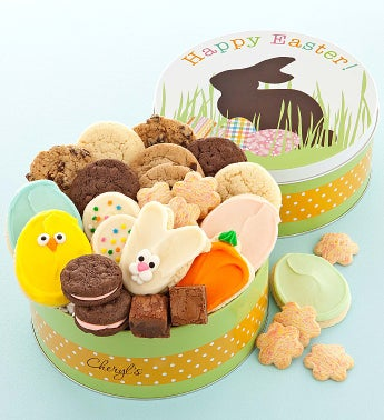 Easter Bunny Snack Tin
