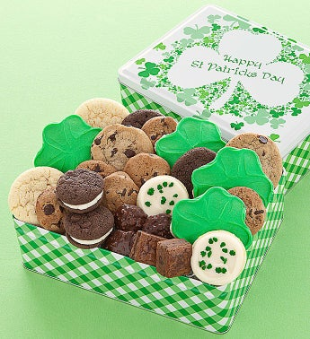 St Patricks Day Gift Tin treats