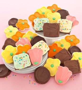 Spring Cookies and Brownies