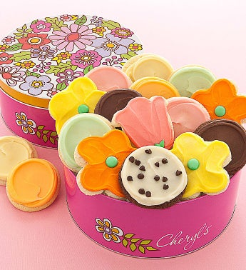 Mothers Day Tin Frosted Cookies