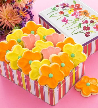 Mothers Day Tin - Cutout Cookies