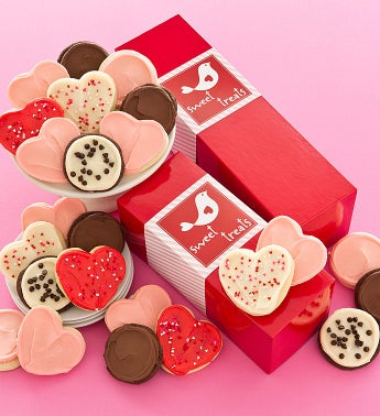 Love Bird Gift Box - Frosted Cookies
