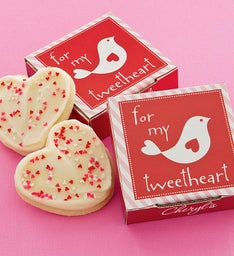 Lovebird Cookie Card