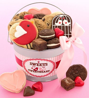 Love Bird Treats Pail