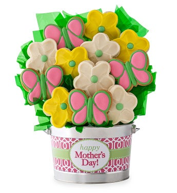 Mothers Day Daisy Cookie Flower Pot