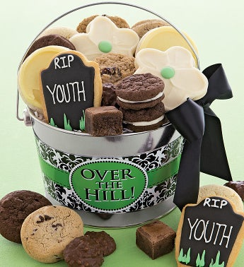Over The Hill Gift Pail