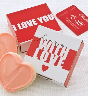 With Love Cookie Card