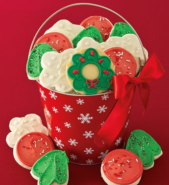 Holiday Cutouts Pail