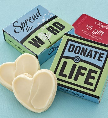 Donate Life Cookie Card Case
