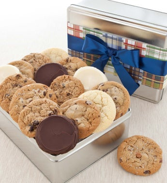Father's Day Gift Tin - 16 Assorted Cookies