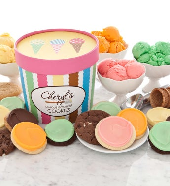 Ice Cream Tub - Assorted Cookies