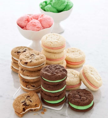 Cheryls Ice Cream Flavored Cookie Sandwiches