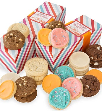 Carnival Cookie Boxes Summer Assortment