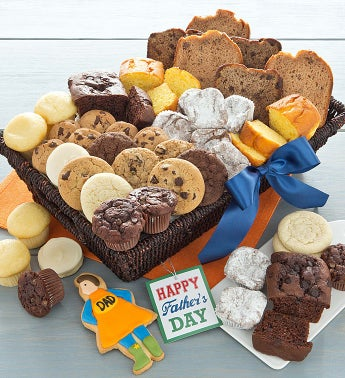 Fathers Day Snack Basket