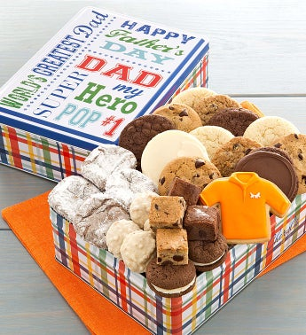 Fathers Day Treats Gift Tin