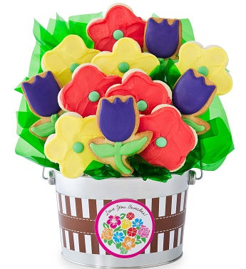 Mixed Bouquet Flower Pot