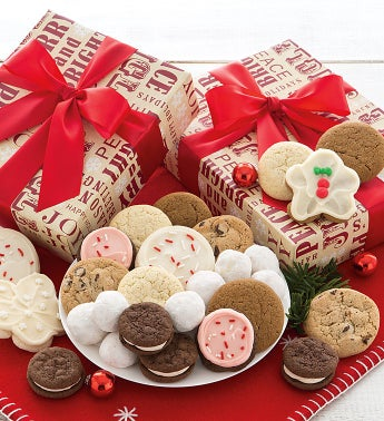Merry and Bright Treats Gift Box