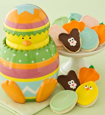 Collectors Edition Easter Chick Cookie Jar