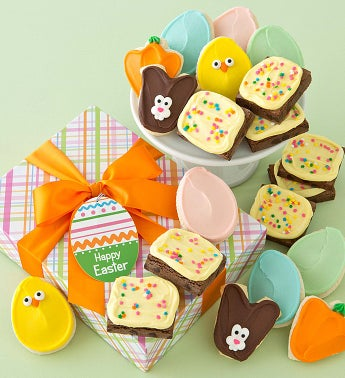 Easter Cookies and Brownies