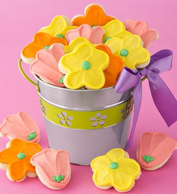 Flower Buttercream Pail