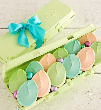 Egg Carton -  Egg Cutout Cookies