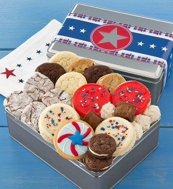 American Classic Treats Gift Tin