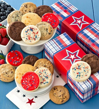 Americana Classic Cookie Gift Boxes