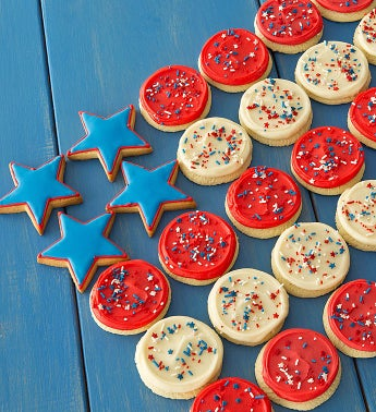 American Classic Buttercream Frosted Cookies