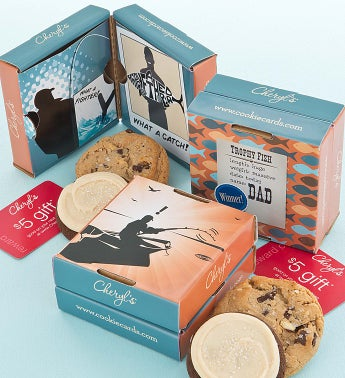 Father's Day Cookie & Gift Card 2 Pack