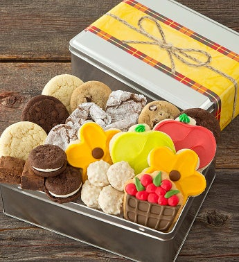 Summer Harvest Treats Tin - Treats Assortment