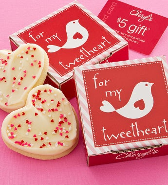 Delilah Sweetheart Cookie Card