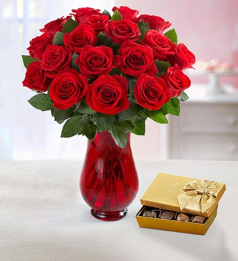 Red Roses Bouquet 18 stems