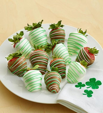 St Pats Picks Dipped Strawberries